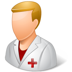 Medical Nurse Male Light Sticker