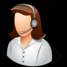 Occupations Technical Support Representative Female Light Sticker