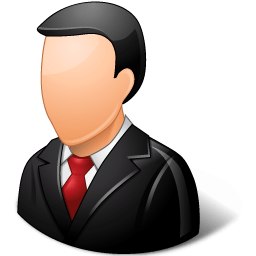 Office Customer Male Light Sticker