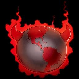 Bad Guy Earth Sticker