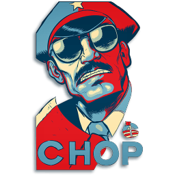 Chop V2 Sticker