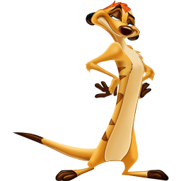 Timon Sticker