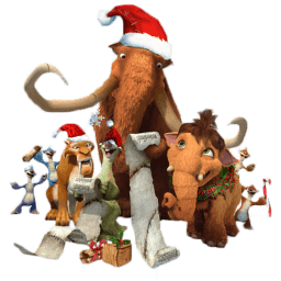 Ice Age Christmas Sticker