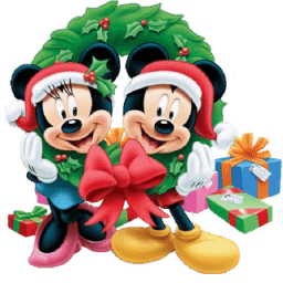 Mickey Mouse Christmas Sticker