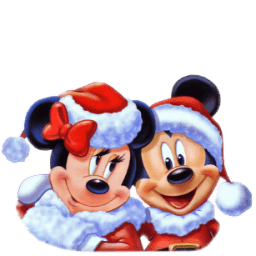 Mickey Mouse Christmas 2 Sticker