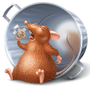 Ratatouille Remy Bin Full Sticker