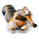 Ice Age Scrat Sticker