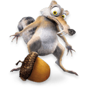 Ice Age Scrat 2 Sticker