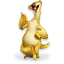 Ice Age Sid Sticker