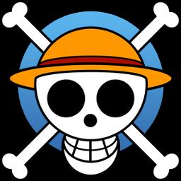 Luffys Flag Sticker