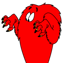 Gossamer Confused Sticker