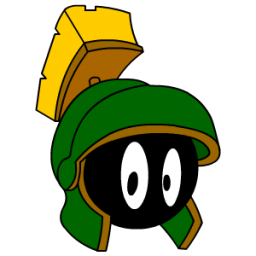 Marvin Martian Sticker