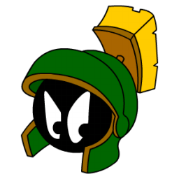 Marvin Martian Angry Sticker