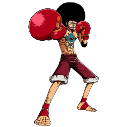 Affro Luffy Sticker