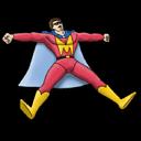 Mighty Man Sticker