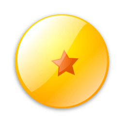 Dragonball 1 Sticker
