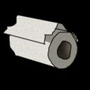 Toilet Paper Sticker