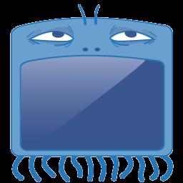Monster Computer Sticker
