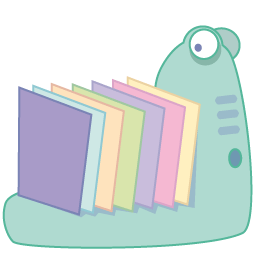 Monster Folder Sticker