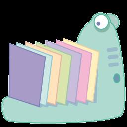 Monster Folder Sticker
