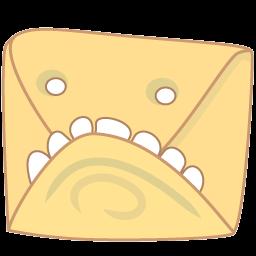 Monster Mail Sticker