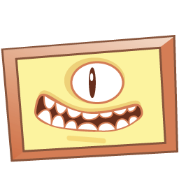 Monster Picture Sticker