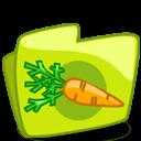 Carrot Green Folder Sticker