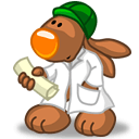 Rabbit Doctor Sticker