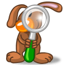 Rabbit Finder Sticker
