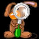 Rabbit Finder Sticker