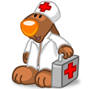 Rabbit First Aid Sticker