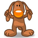 Rabbit Help Sticker