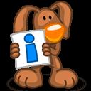 Rabbit Info Sticker