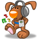 Rabbit Music Sticker