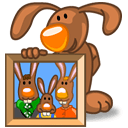 Rabbit Pictures Sticker