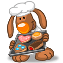 Rabbit Chef Sticker