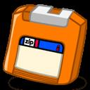 Zip Orange Sticker