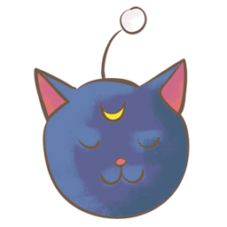 Luna P Sticker