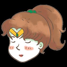 Sailor Jupiter Sticker