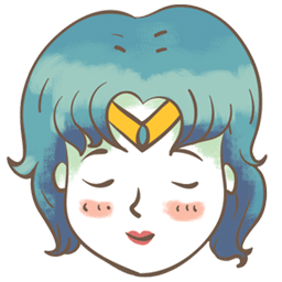 Sailor Mercury Sticker