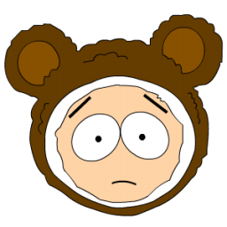 Butters Mr Biggles Head Sticker
