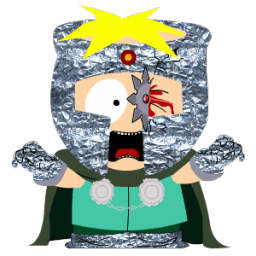 Butters Professor Chaos Sticker