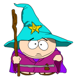 Cartman Gandalf Sticker
