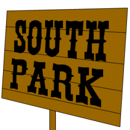 South Park Sign Sticker