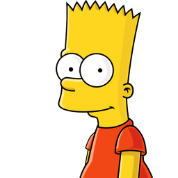 Bart Simpson Sticker