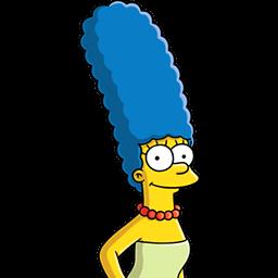 Marge Simpson Sticker