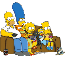 The Simpsons 01 Sticker