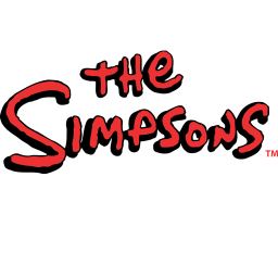 The Simpsons Logo Sticker