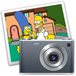 Iphoto Simpsons Sticker