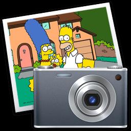 Iphoto Simpsons Sticker